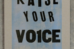 13. raise your voice