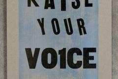 13. raise your voice