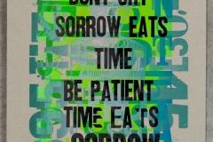 23. time sorrow